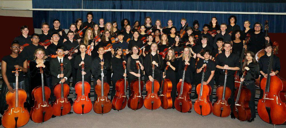 CCHS Concert Orchestra banner 2020